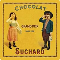 Dessous de Plat Chocolat SUCHARD déco publicité rétro vintage