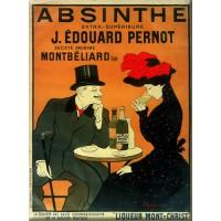 Magnet plaque ABSINTHE PERNOT déco publicité rétro vintage