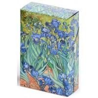 Boîte étuis à cigarettes LES IRIS Van Gogh 1889