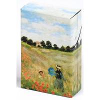 Boîte étuis à cigarettes LES COQUELICOTS Claude Monet 1873