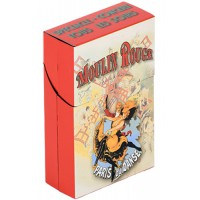 Boîte étuis à cigarettes JOYEUX MOULIN ROUGE déco affiche rétro vintage