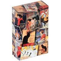 Boîte étuis à cigarettes Patchwork PARIS déco affiche rétro vintage