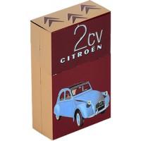 Boîte étuis à cigarettes DEUX CHEVAUX 2CV Citroën déco publicité rétro vintage