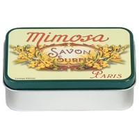 Boîte à savon MIMOSA SAVON SURFIN déco publicité rétro vintage