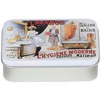 Boîte à savon LAVABOS L'HYGIÈNE MODERNE déco publicité rétro vintage