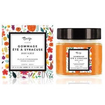 Gommage aux grains de sucre Fleur d'Oranger Baïja 212 ml Été à Syracuse collection