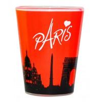 Verre à shot PARIS Fluo Orange