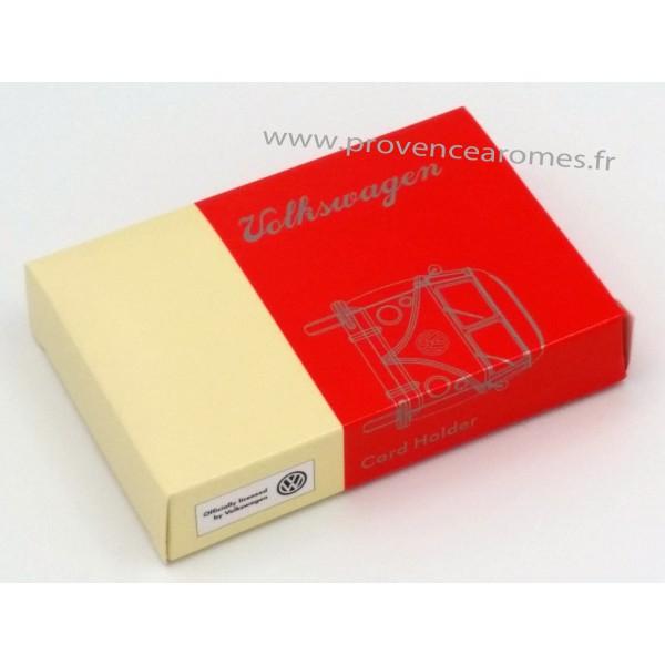 bo te tuis pour carte de visite combi volkswagen rouge brisa r tro vintage collection. Black Bedroom Furniture Sets. Home Design Ideas