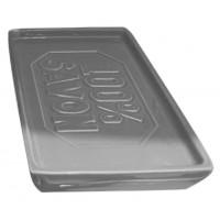 Pote savon rectangle céramique Gris 100% SAVON