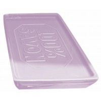 Pote savon rectangle céramique lavande 100% SAVON