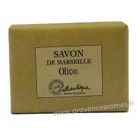 Savon de Marseille Olive à l'huile d'olive Lothantique Le Comptoir à savons de Marseille