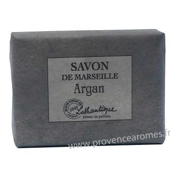 Savon de Marseille Argan à l'huile d'olive Lothantique Le Comptoir à savons de Marseille