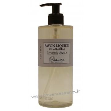 Savon liquide de Marseille Amande Douce à l'huile d'olive Lothantique Le Comptoir à savons de Marseille