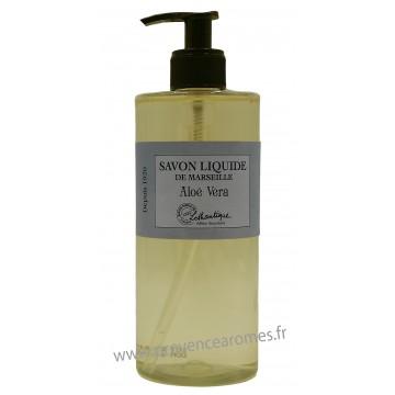 Savon liquide de Marseille Aloé Véra à l'huile d'olive Lothantique Le Comptoir à savons de Marseille