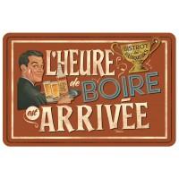 Set de table L'HEURE DE BOIRE Natives déco rétro vintage