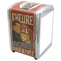 Distributeur de serviettes L'HEURE DE BOIRE Natives déco rétro vintage