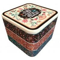 Boîtes à dosettes ou capsules café empilables FOLKLO Natives déco rétro vintage