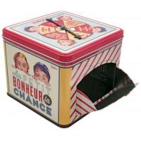 Boîte à bonbons distributrice AU P'TIT BONHEUR LA CHANCE Natives déco rétro vintage