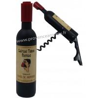 Tire-bouchon magnétique bouteille de vin CHÂTEAU TUBOIS PASDEAU