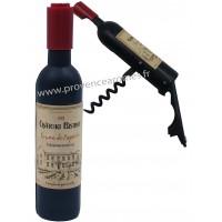 Tire-bouchon magnétique bouteille de vin CHÂTEAU BISTROT
