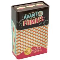 Boîte étuis à cigarettes AVANT JE FUMAIS Natives déco rétro vintage