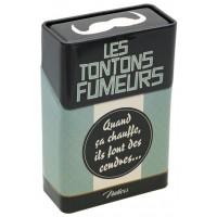 Boîte étuis à cigarettes LES TONTONS FUMEURS Natives déco rétro vintage