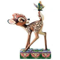 BAMBI Figurine Disney Merveilles du Printemps Collection Disney Tradition