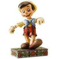 PINOCCHIO Figurine Disney Un Pas Vif Collection Disney Tradition