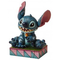 STITCH Figurine Disney Ohana signifie famille Collection Disney Tradition