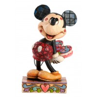 MICKEY Figurine Disney Amoureux Collection Disney Tradition