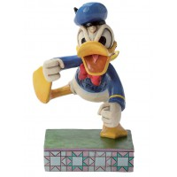 DONALD Figurine Disney Donald Duck en colère Collection Disney Tradition