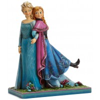 ELSA et ANNA Figurine Disney La Reine des neiges Collection Disney Tradition