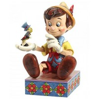 PINOCCHIO et JIMINY CRICKET Figurine Disney Collection Disney Tradition