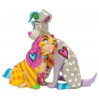 LA BELLE et LE CLOCHARD Figurine Disney Collection Disney Britto