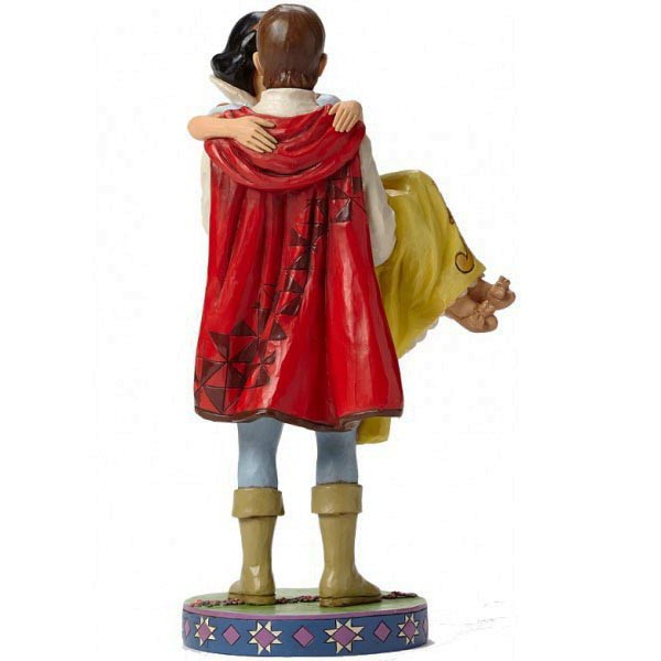 Blanche neige et son prince figurine disney collection disney tradition provence ar mes - Blanche neige et son prince ...
