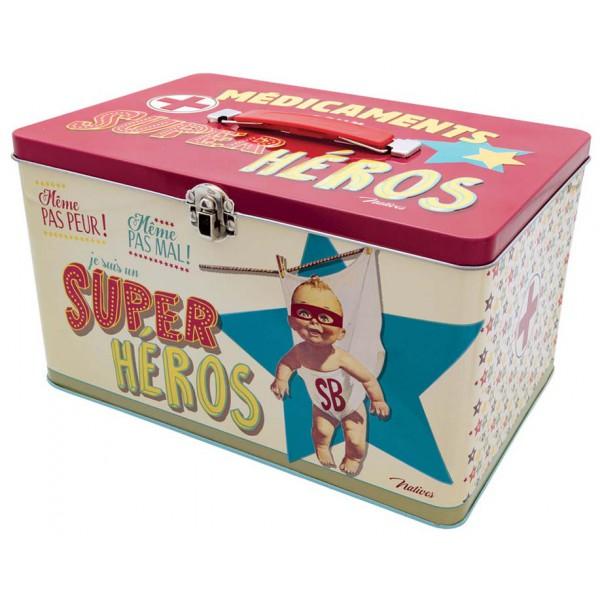 Bo Te M Dicaments Super H Ros Natives D Co R Tro Vintage