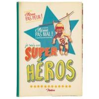 Protège carnet de santé SUPER HÉROS Natives déco rétro vintage