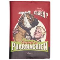Protège carnet de santé PHARMACHIEN Natives déco rétro vintage