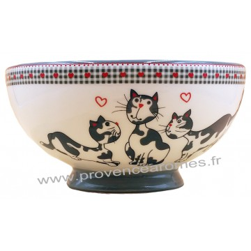 Bol J'AIME LES CHATS collection Love cats