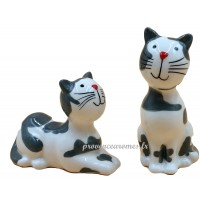 Set Sel/Poivre J'AIME LES CHATS collection Love cats