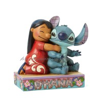 "LILO et STICH Figurine Disney ""Ohana signifie Famille"" Collection Disney Tradition"