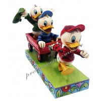 RIRI FIFI et LOULOU Figurine Disney Collection Disney Tradition