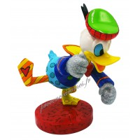DONALD Figurine Disney Donald Duck en colère Collection Disney Britto