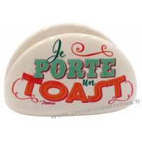 Porte-toast JOYEUX P'TIT DÉJ Natives déco rétro