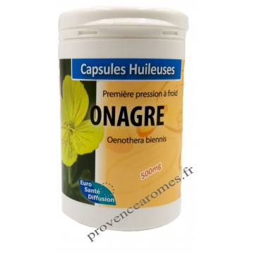 Capsules d'huile d'ONAGRE Phytofrance