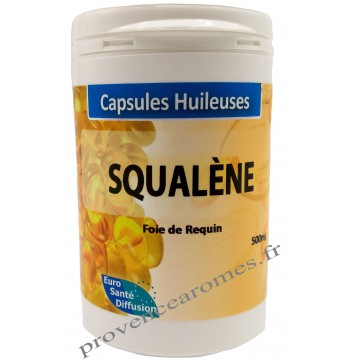 Capsules d'huile de SQUALÈNE Phytofrance