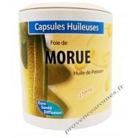 Capsules d'huile de FOIE DE MORUE Phytofrance