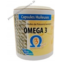 Capsules huileuses OMEGA 3 Phytofrance