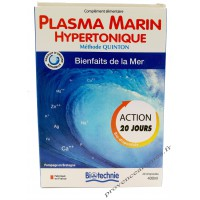 PLASMA MARIN HYPERTONIQUE 40 ampoules Biotechnie