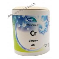 CHROME gélules végétales minéraux Cr - Phytofrance Euro Santé Diffusion